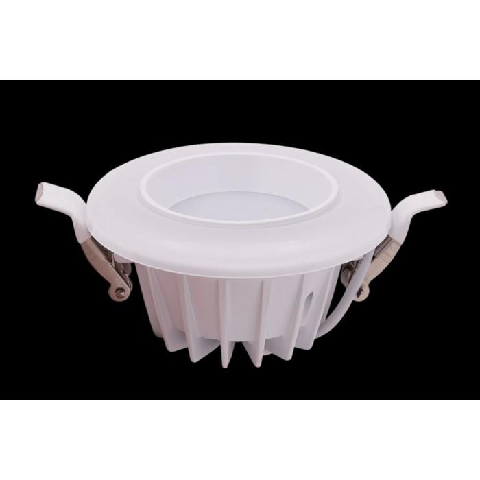 1Светильник светодиодный потолочный встраиваемый, серия DW-DL, белый, 7Вт, IP20, Нейтральный белый (4200К)