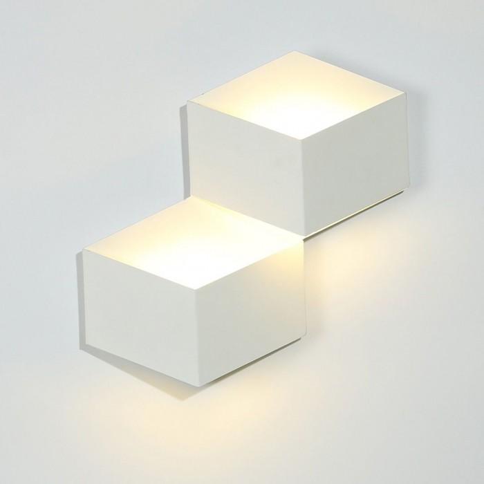 1Бра декоративное PALMIRA, белый, 6Вт, 4000K, IP20, GW-1101-2-6-WH-NW