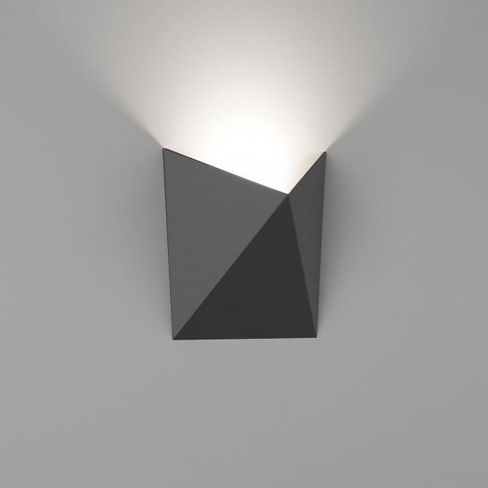 1Бра декоративное TANGO, черный, 7Вт, 3000K, IP54, GW-A816-7-BL-WW