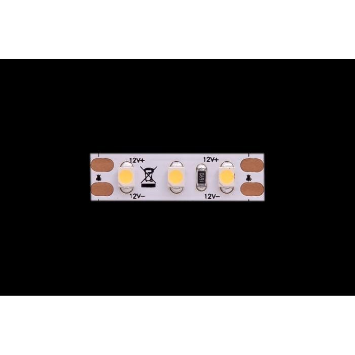 2Лента светодиодная LUX, 3528, 120 LED/м, 9,6 Вт/м, 12В, IP33, Нейтральный белый (4000K)