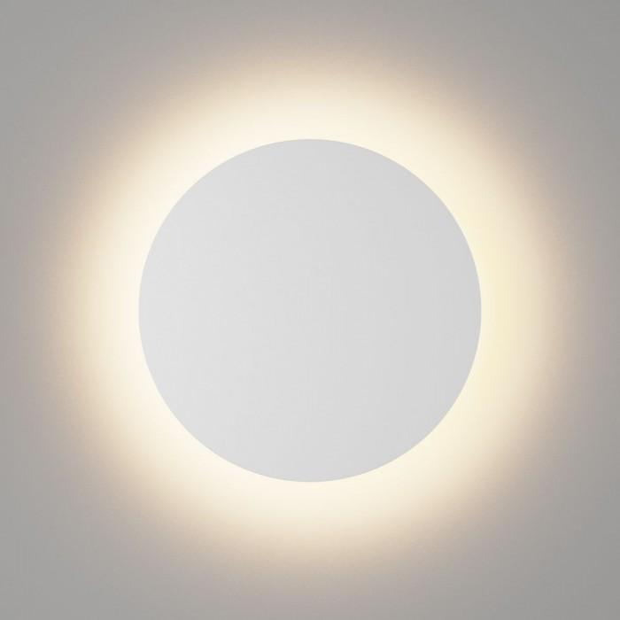 1Настенный светильник CIRCUS, матовый белый, 16Вт, 3000K, IP54, GW-8663L-16-WH-WW