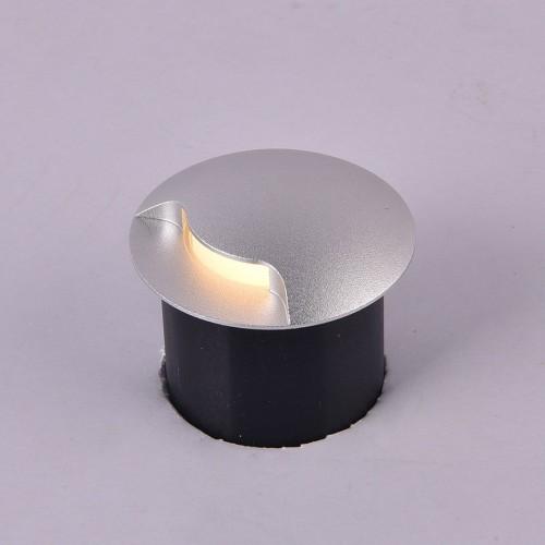 003299 Светильник встраиваемый для подсветки лестницы/пола COIN-1, белый, 1Вт, 4000K, IP20, GW-812-1-1-WH-NW DesignLed