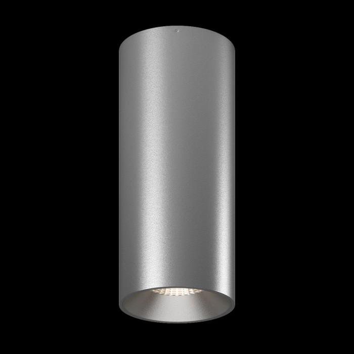 1Светильник VILLY, потолочный накладной, 15Вт, 3000K, серебряный 1