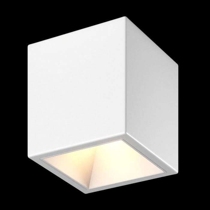 2Светильник светодиодный потолочный накладной, серия DL-SPL, белый, 18Вт, IP20, Теплый белый (3000К)