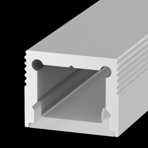 002166 Накладной алюминиевый профиль LS.1613 для однорядной ленты DesignLed