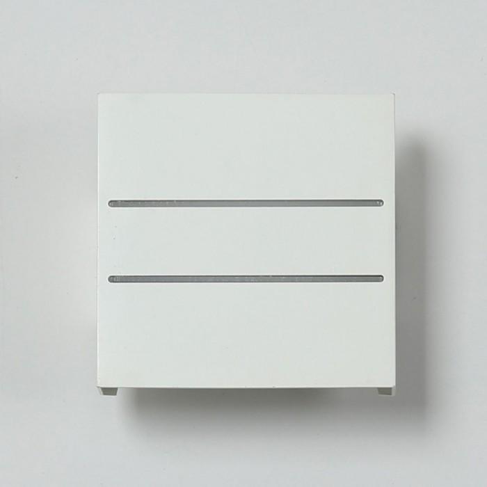 2Бра декоративное RAZOR DBL, белый, 5Вт, 4000K, IP20, GW-7002-5-WH-NW