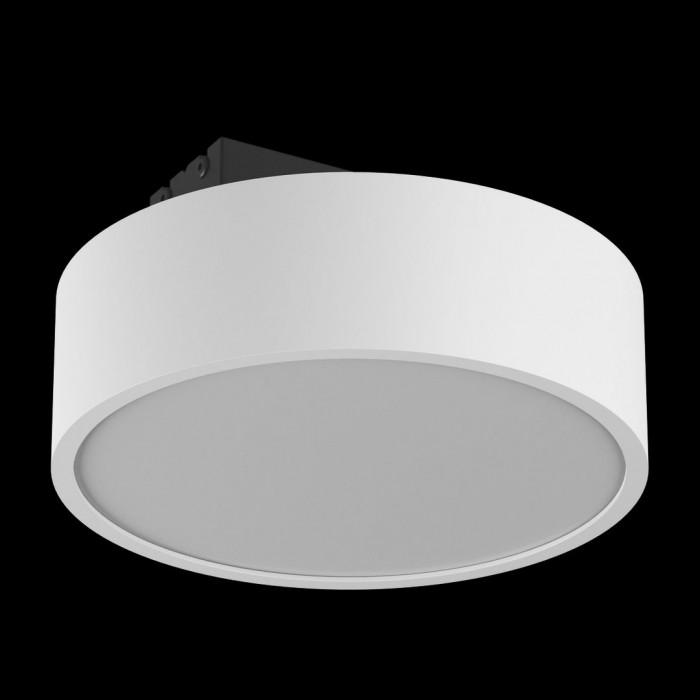 1Светильник светодиодный потолочный накладной наклонный, серия IMD, белый, 15Вт, IP44, Теплый белый (3000К)