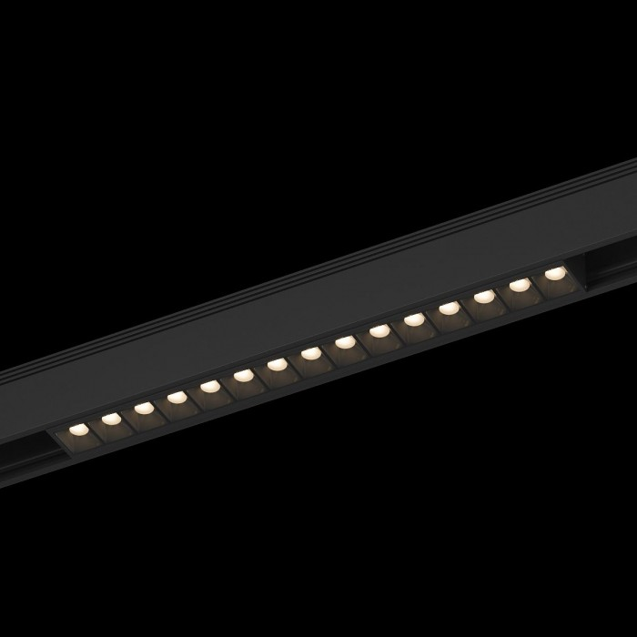 1Трековый светильник SY 25W черный 3000К SY-601223-BL-25-WW