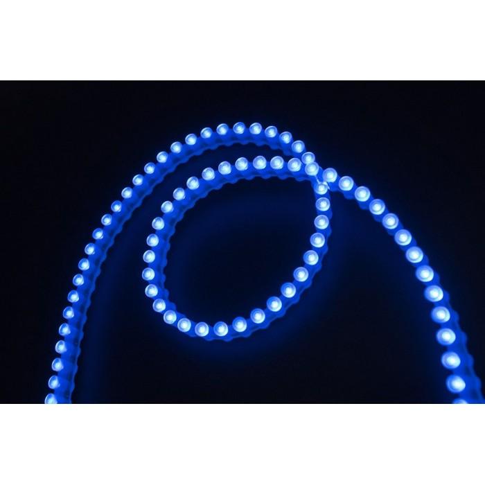 2Лента светодиодная DIP 5мм, 96 LED/м, 7,7 Вт/м, 12В, IP68, Цвет: Синий, 970мм