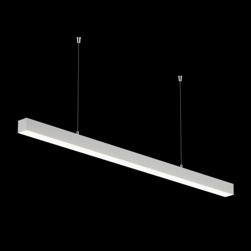 Светильники из профиля I-Type-5050-25-65-NW: Профиль LS 5050, Лента 4x DSG 2835 WW 280L-V24-IP33, 700LED, 26W/m, LUX, подвесы. Без блока питания.