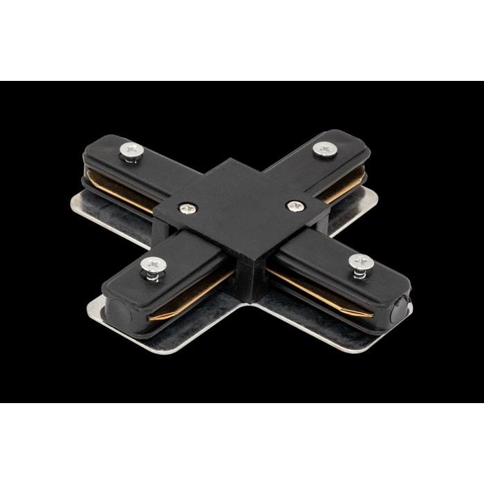 1003727 X коннектор для трековых систем, черный