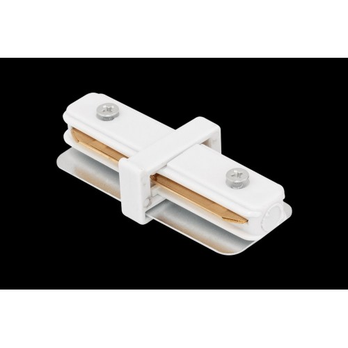I коннектор для трековых систем белый CN2-WH-I