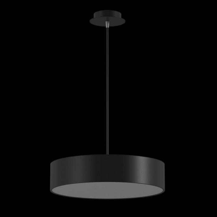 1LED светильник потолочный P0169-260A-BL-WW черный 25Вт 3000