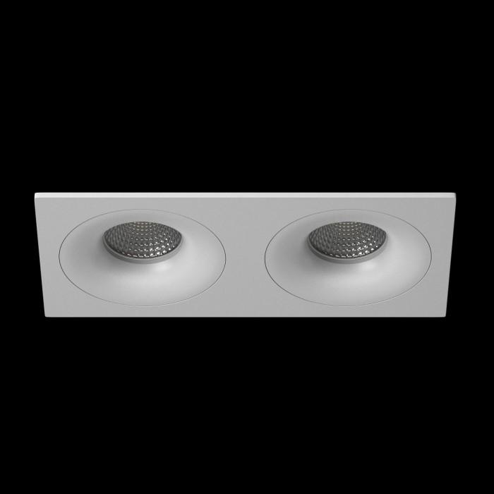 1Светильник под лампу Gu10 потолочный встраиваемый, серия DL-MJ-1012, белый, 35 (max)Вт, IP20
