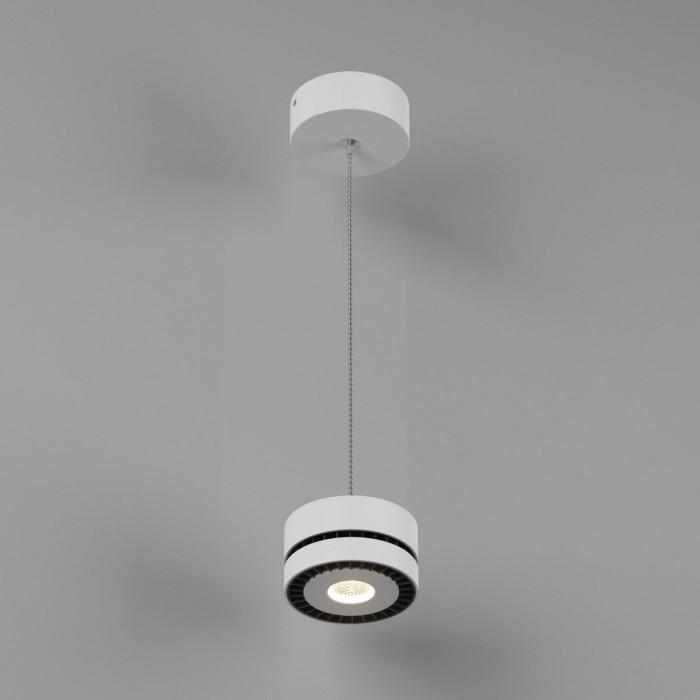 2Светильник светодиодный подвесной IMD-PA-0100CR-WH-WW, белый, 12Вт, Теплый белый (3000К)