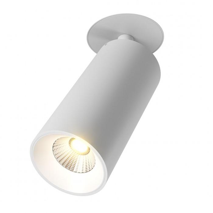 2Крепление сменное М1 для светильников VILLY, поворотное встраиваемое в гипсокартон, цвет белый
