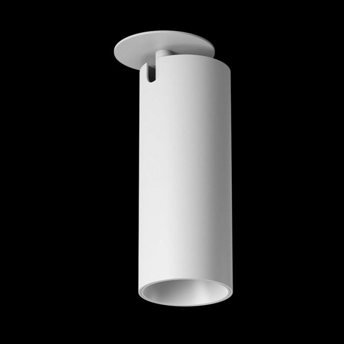 1Светильник под лампу Gu10 потолочный встраиваемый поворотный, серия MJ-2037, белый, 35 (max)Вт, IP20