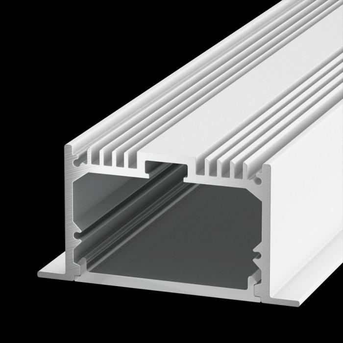 1Встраиваемый алюминиевый профиль LE.6332, белый