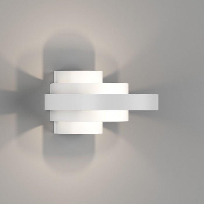 2Настенный светильник VIANA, матовый белый, 6Вт, 3000K, IP20, GW-5809-6-WH-WW