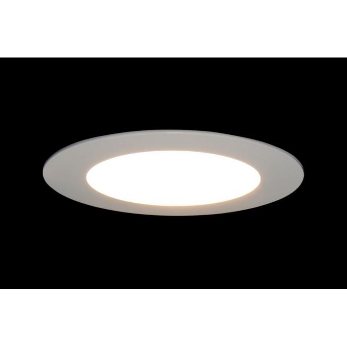 2Светильник светодиодный потолочный встраиваемый PL, Белый, Пластик + алюминий, Нейтральный белый (4000-4500K), 6Вт, IP20 цена