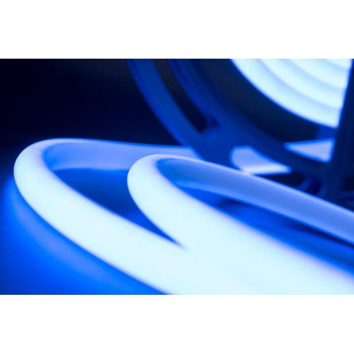 2Термолента светодиодная SMD 2835, 180 LED/м, 12 Вт/м, 24В, IP68, Цвет: Синий