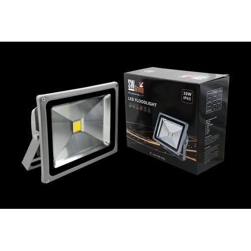 Прожектор светодиодный 6500К Холодный белыйK FL-COB-30-CW 002268 SWG