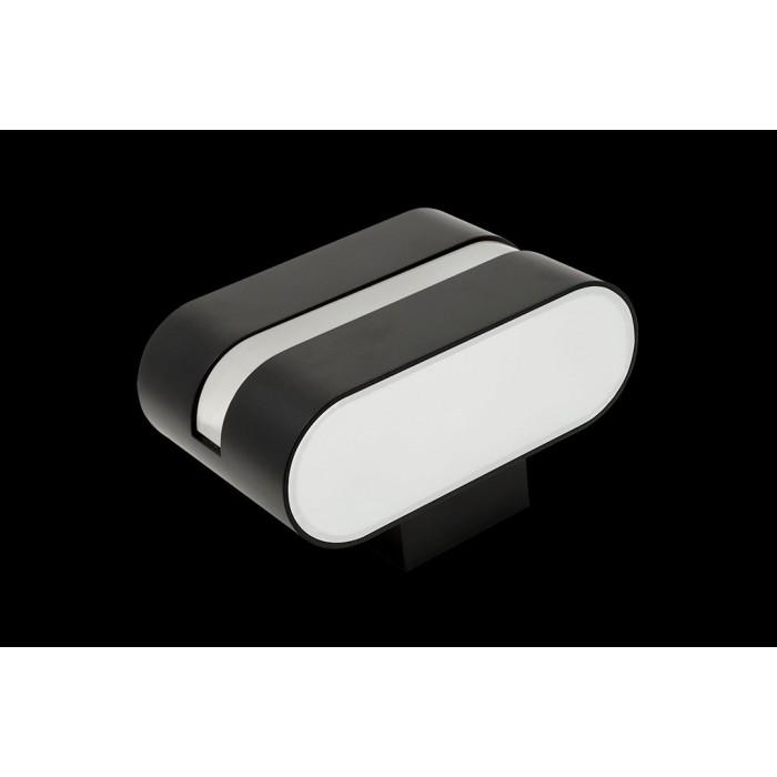 1Бра декоративное RAZOR LN, черный, 6Вт, 3000K, IP20, GW-1557-6-BL-WW