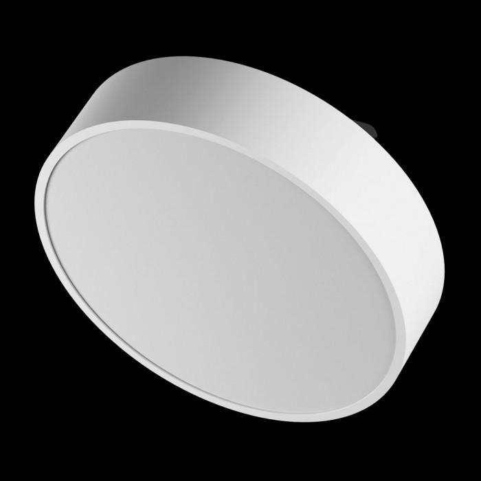 2Светильник светодиодный потолочный накладной наклонный, белый, 25Вт, IP44, Теплый белый (3000К)