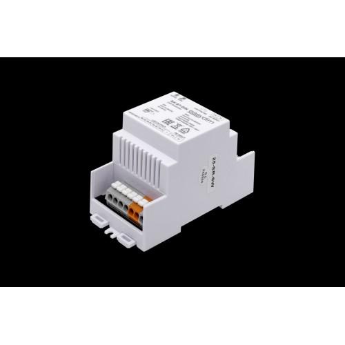 Универсальный приемник-контроллер RX-ST-DIN с креплением на DIN-рейку для светодиодных лент RGB, RGB+W, MIX