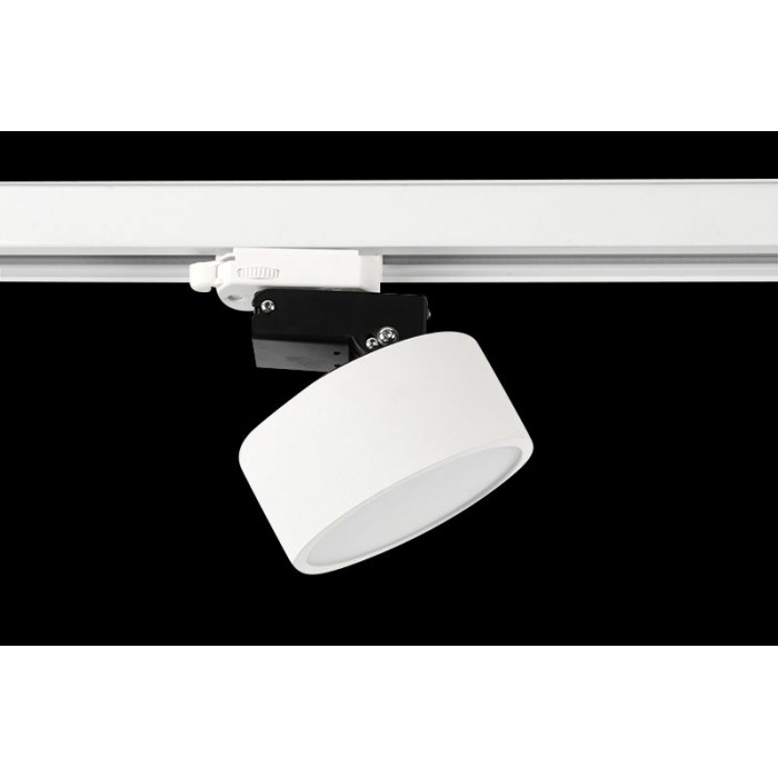 1Трековый трёхфазный светильник IMD 7W белый 3000К IMD-GA-0300BR-WH-WW