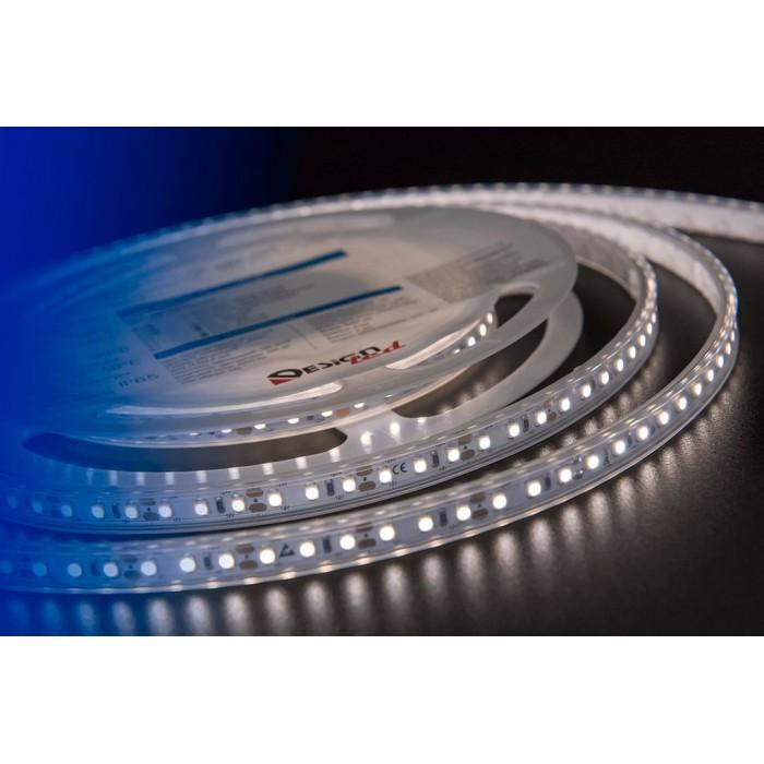 2Лента светодиодная LUX, 3528, 120 LED/м, 9,6 Вт/м, 12В, IP65, Нейтральный белый (4000K)