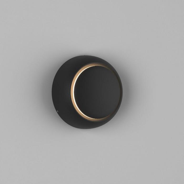 2Настенный светильник MUN, черный, 5Вт, 3000K, IP20, GW-6100-5-BL-WW