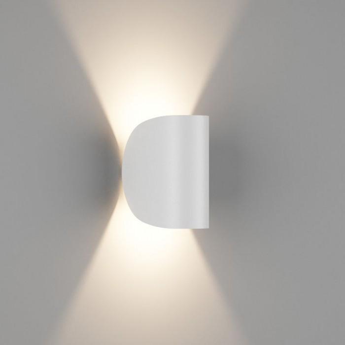 2Настенный светильник VENTURA, матовый белый, 6Вт, 3000K, IP54, GW-A108-6-WH-WW
