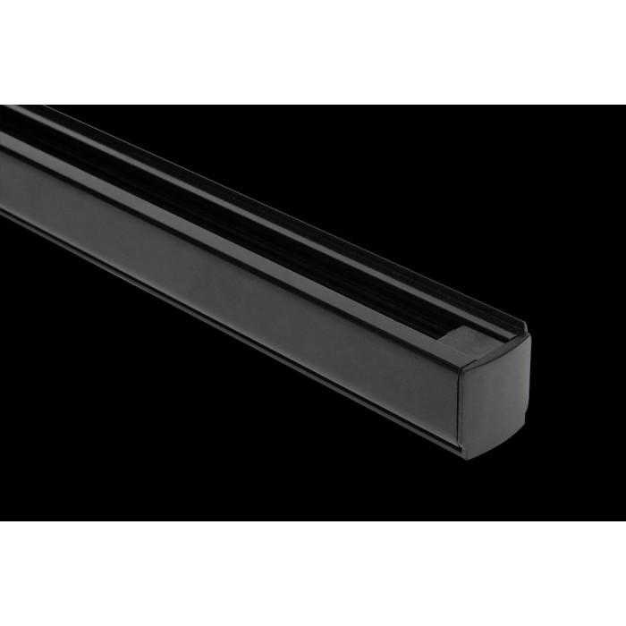 1Шинопровод (трек), черный, 2м купить