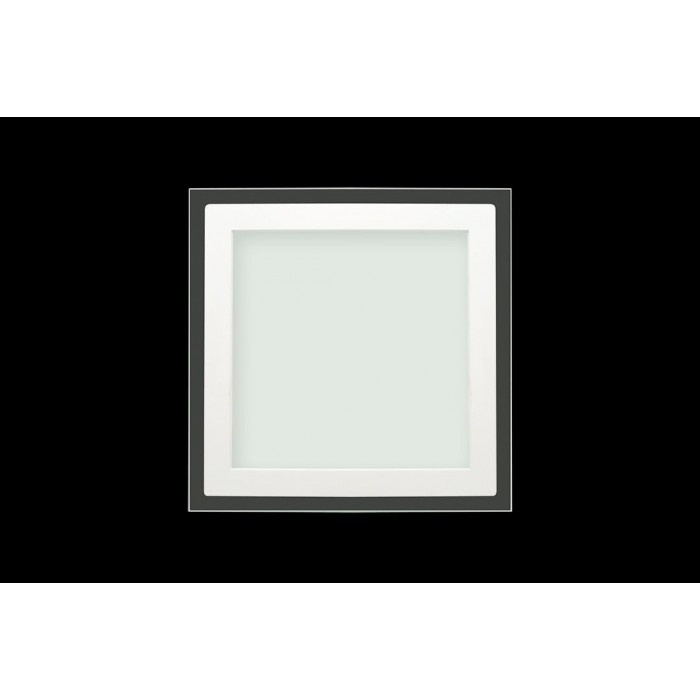 2Светильник светодиодный потолочный встраиваемый P, Белый, Сталь/Стекло, Нейтральный белый (4000-4500K)