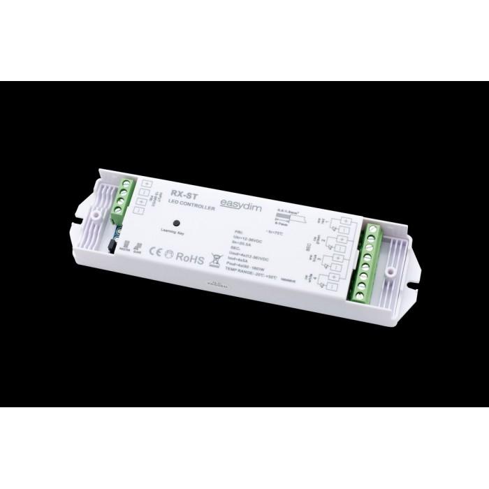 1Универсальный приемник-контроллер RX-ST для светодиодных лент RGB, RGB+W, MIX