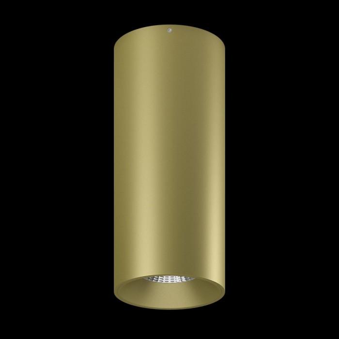 1Светильник VILLY, потолочный накладной, 15Вт, 3000K, золотой 2