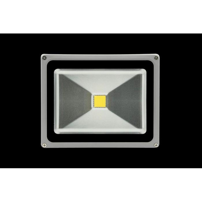 1Прожектор светодиодный 3000К Теплый белыйK FL-COB-30-WW