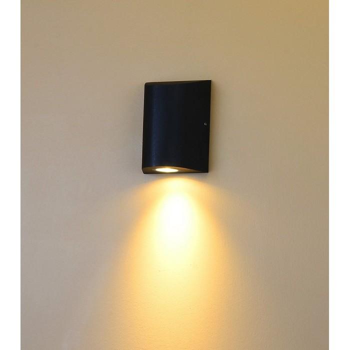 1Настенный светильник ZIMA, черный, 12Вт, 3000K, IP54, LWA0148A-BL-WW