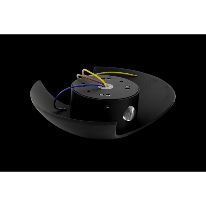 2Настенный светильник BRAND, черный, 2*3Вт, 3000K, IP54, LWA0121A-BL-WW