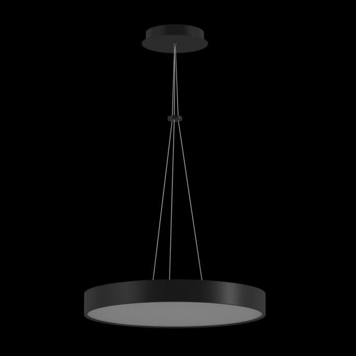 2LED светильник потолочный P0169-600A-BL-WW черный 76Вт 3000