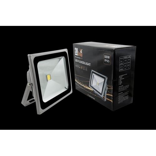 Прожектор светодиодный 6500К Холодный белыйK FL-COB-50-CW 002269 SWG