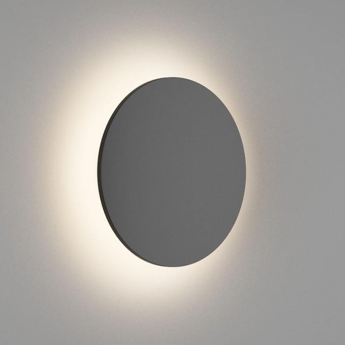 2Настенный светильник CIRCUS, матовый черный, 16Вт, 3000K, IP54, GW-8663L-16-BL-WW