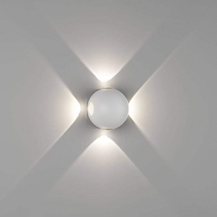 1Настенный светильник SFERA-DBL, белый, 4Вт, 4000K, IP54, GW-A161-4-4-WH-NW
