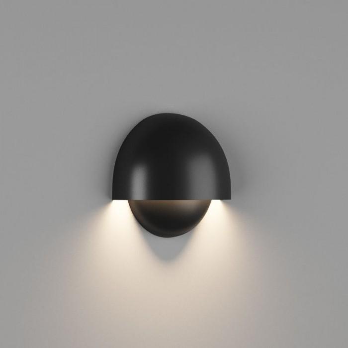 2Настенный светильник MUSHROOM, матовый черный, 10Вт, 4000K, IP54, GW-A818-10-BL-NW