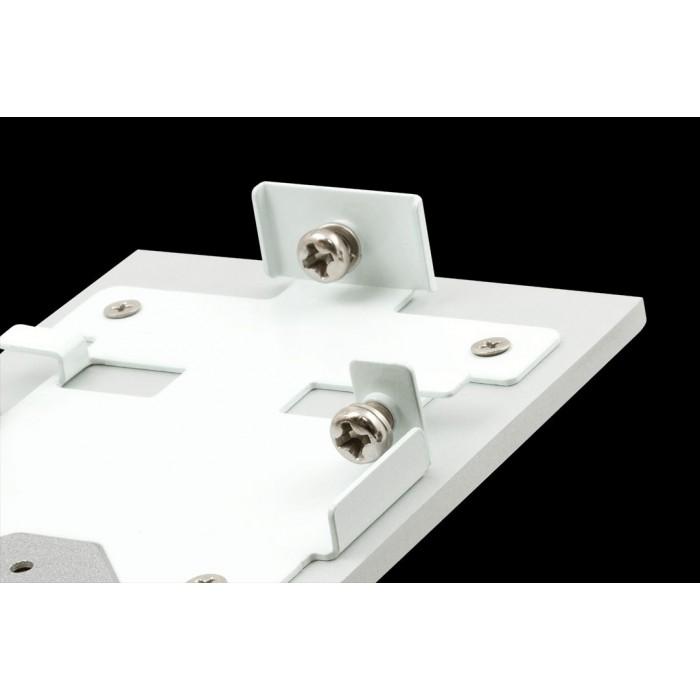 2Заглушки для профиля L5570, серебро, 2шт/комплект