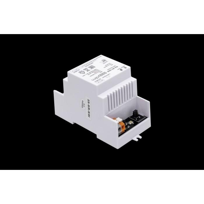 2Универсальный приемник-контроллер RX-ST-DIN с креплением на DIN-рейку для светодиодных лент RGB, RGB+W, MIX