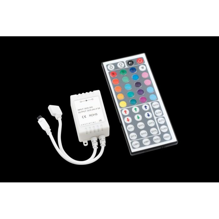 1LED MIX RGB controller инфракрасный 6А 72W 44к