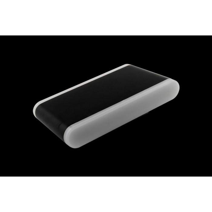 1Настенный светильник BRAVO, черный, 12Вт, 3000K, IP54, GW-6080L-12-BL-WW