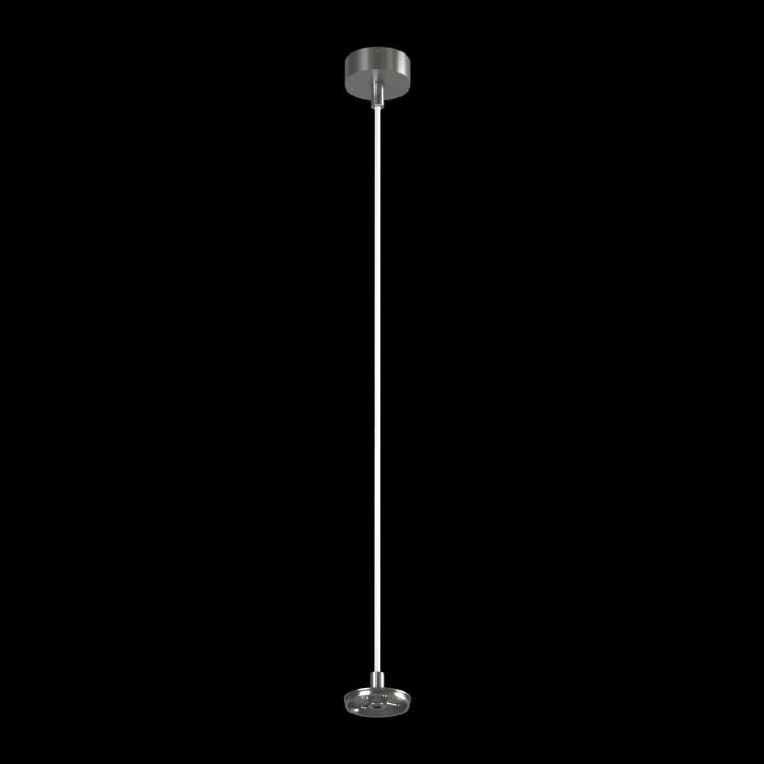 1Крепление сменное М6 для светильников VILLY, подвесное, цвет серебряный 1